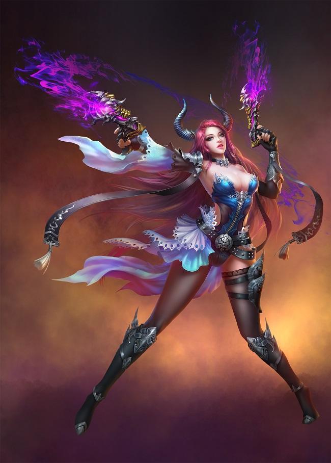 游戏原图-女妖